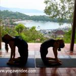 retraite yoga à bali padangbai