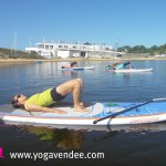 cours yoga sup paddle starboard wave school france vendee cnt