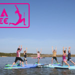 yoga sup paddle vendee la tranche sur mer docking station deluxe starboard