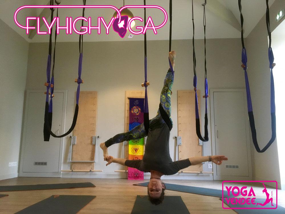 yoga aerien fly yoga flyhighyoga france aerial yoga la roche sur yon vendee