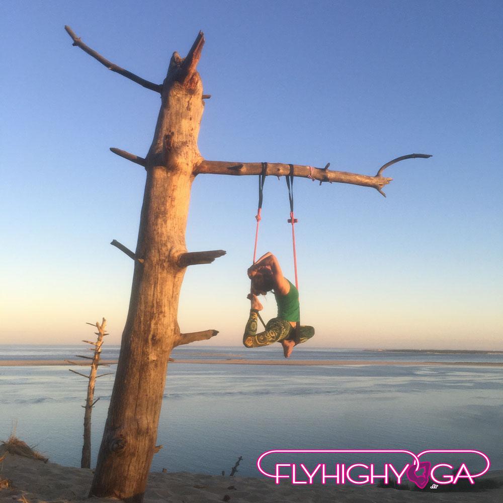 cours et stages de yoga aérien flyhighyoga
