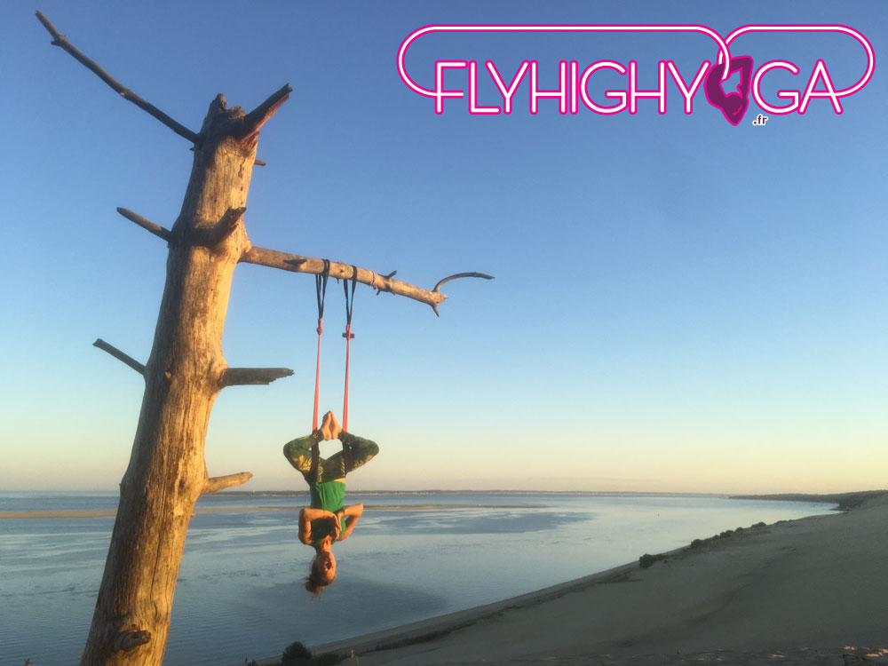 cours stage fly yoga aerien flyhighyoga