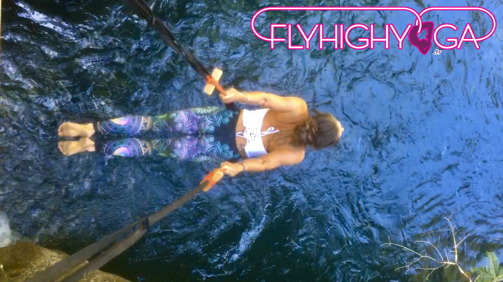 stages cours de fly yoga aerien flyhighyoga
