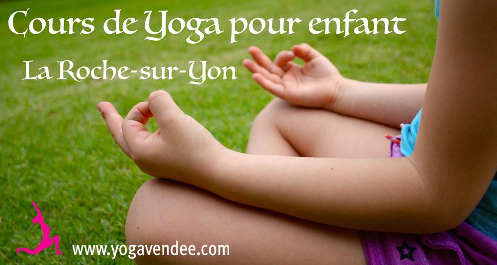 cours de yoga pour enfant la roche sur yon
