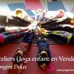 cours ateliers yoga pour enfant en vendee la roche sur yon