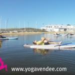 la tranche sur mer sup yoga vendee france