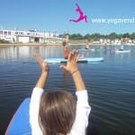 cours yoga sup paddle enfant vendée
