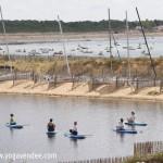 cours sup yoga paddle la Tranche sur mer Vendee