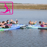yoga sup paddle vendee la tranche sur mer france yoga docking station deluxe starboard