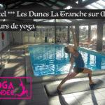 cours de yoga hotel les dunes la tranche sur mer