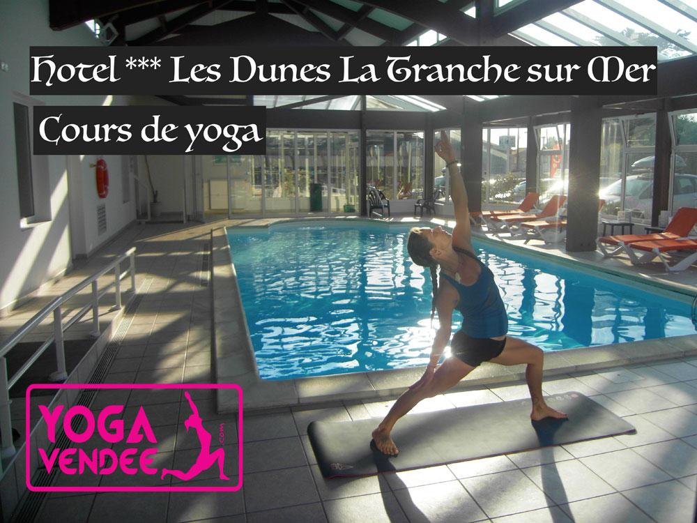 cour de yoga hotel les dunes la tranche sur mer