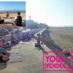 cours de yoga hotel *** les dunes la tranche sur mer