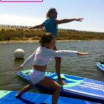 cours sup yoga paddle enfants kids la tranche sur mer