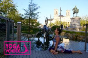ecole et cours de yoga la roche sur yon