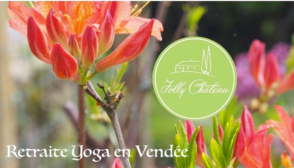 retraite yoga vendée jolly Chateau