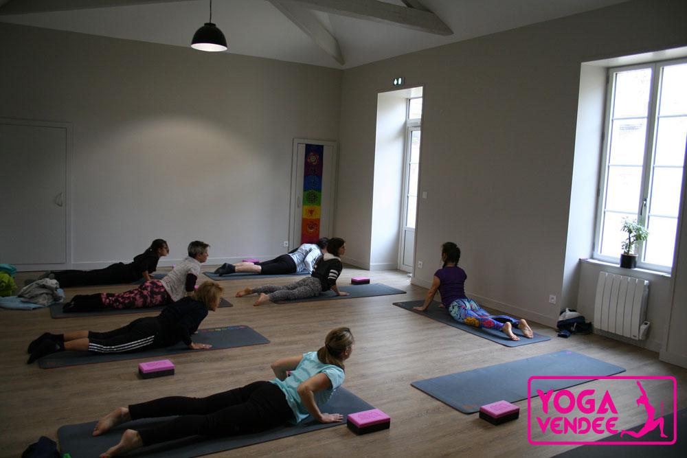 cours de yoga la roche sur yon