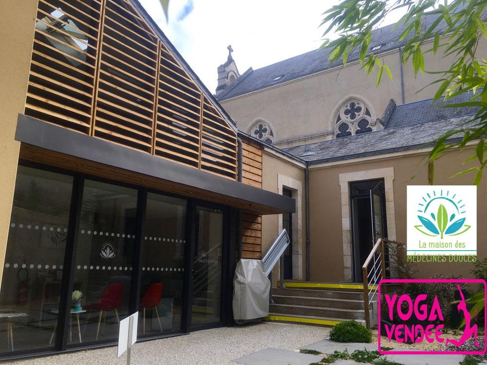la maison des medecines douces ecole yoga vendee la roche sur yon