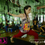 cours flyhighyoga flying yoga aerial maud chevallier