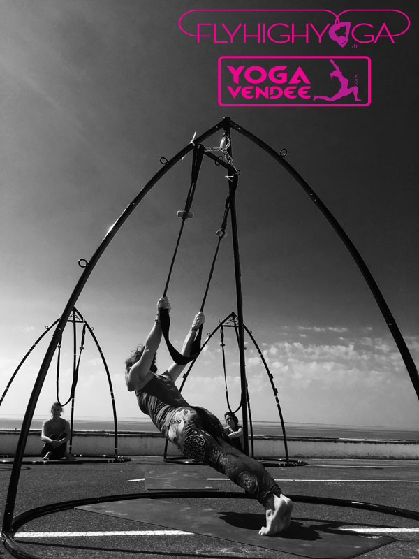 flyhighyoga france yoga aerien flying yoga vendee