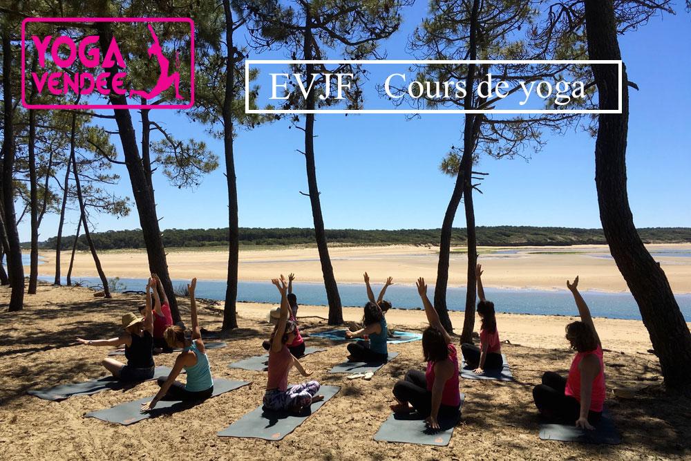 EVJF enterrement de vie de jeune fille Cours de yoga en Vendée Yoga évènementiel