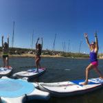 sup yoga paddle cour la tranche sur mer vendee