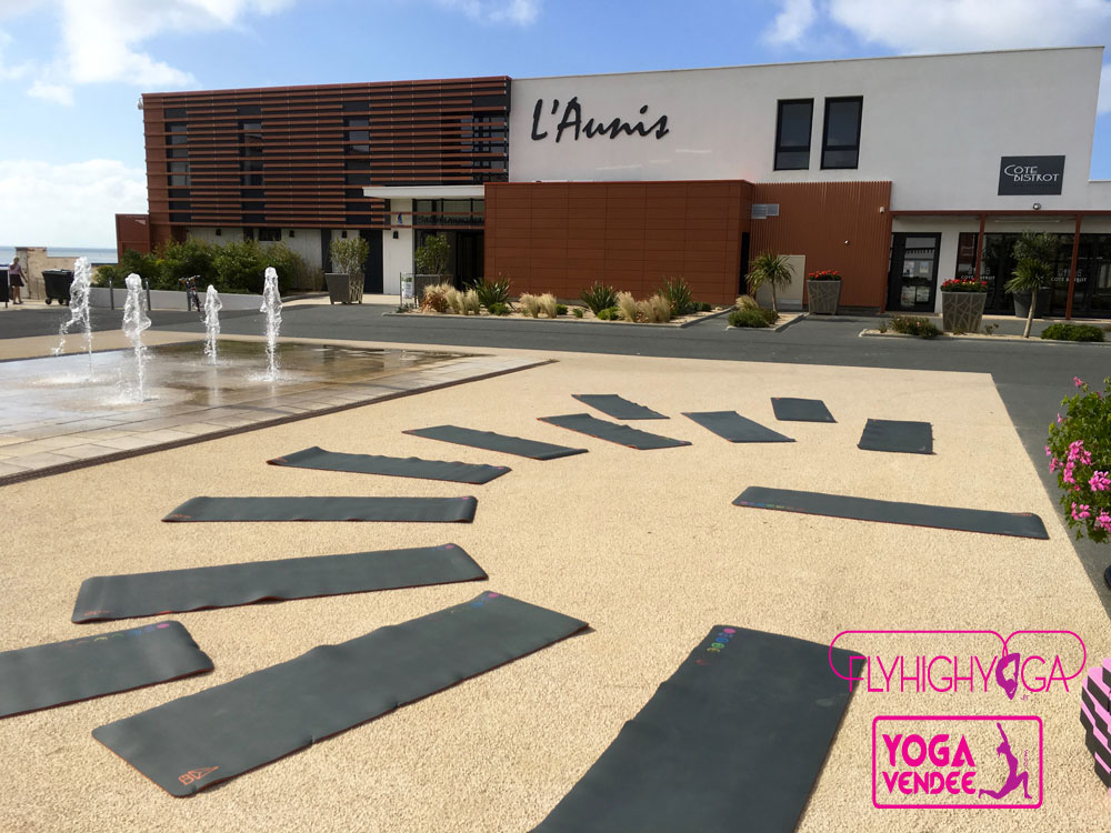 journee international du yoga en france avec yoga vendee et eq love tapis yoga