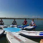 sup yoga paddle en vendee la tranche sur mer maud chevallier