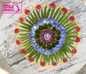 atelier mandala land art la roche sur yon yoga vendee