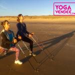 nordique yoga marche nordique yoga en vendee la tranche sur mer jard sur mer