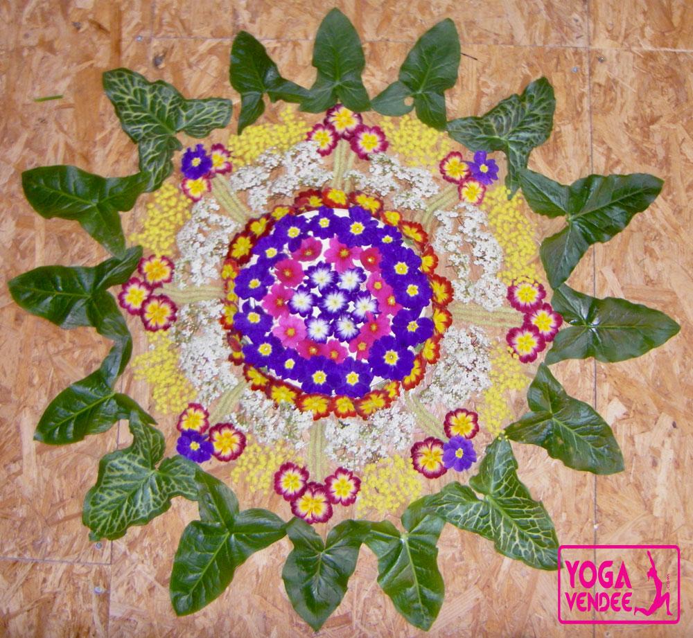 atelier mandala pour les enfants et parents yoga vendee laroche sur yon la tranche sur mer