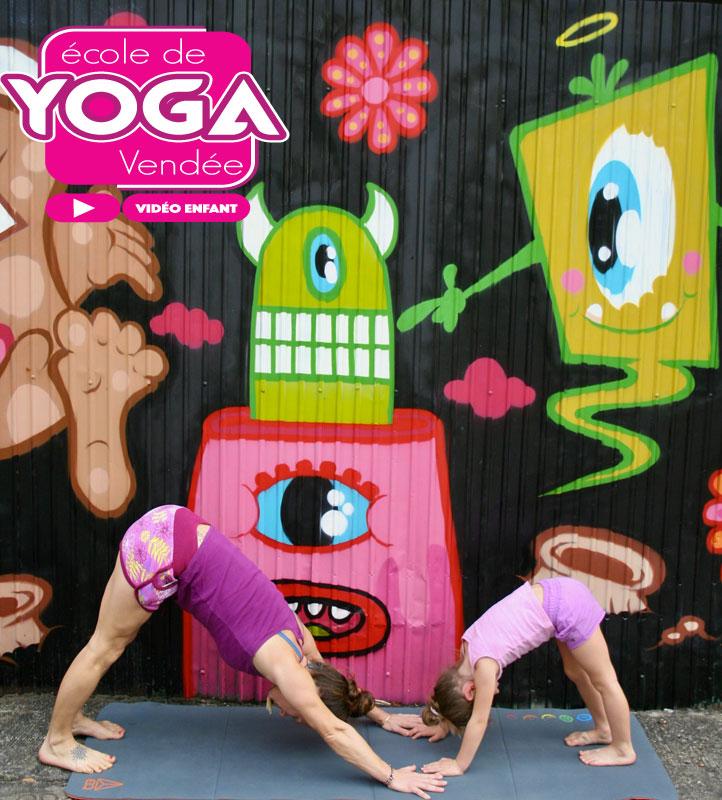 Vidéo cours de yoga pour enfant par Yoga Vendée