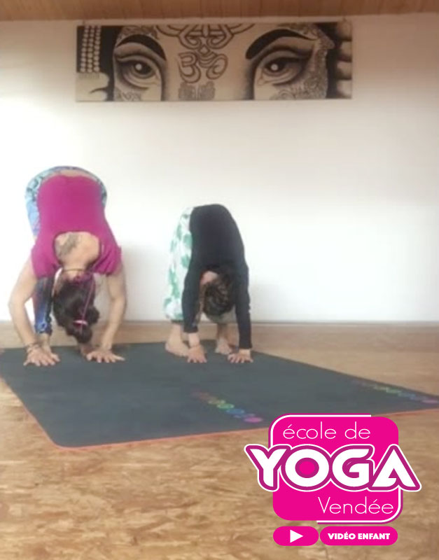 cours de yoga enfant en vidéo avec l'école yoga Vendée