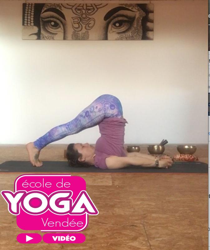 Video cours de hatha yoga dynamique gratuit 1h proposé par Yoga Vendée France