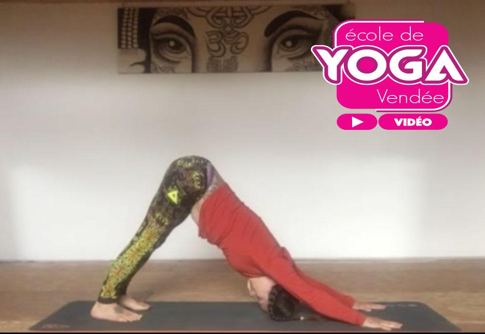 Vidéo gratuite cours de yoga La Roche sur Yon Vendée