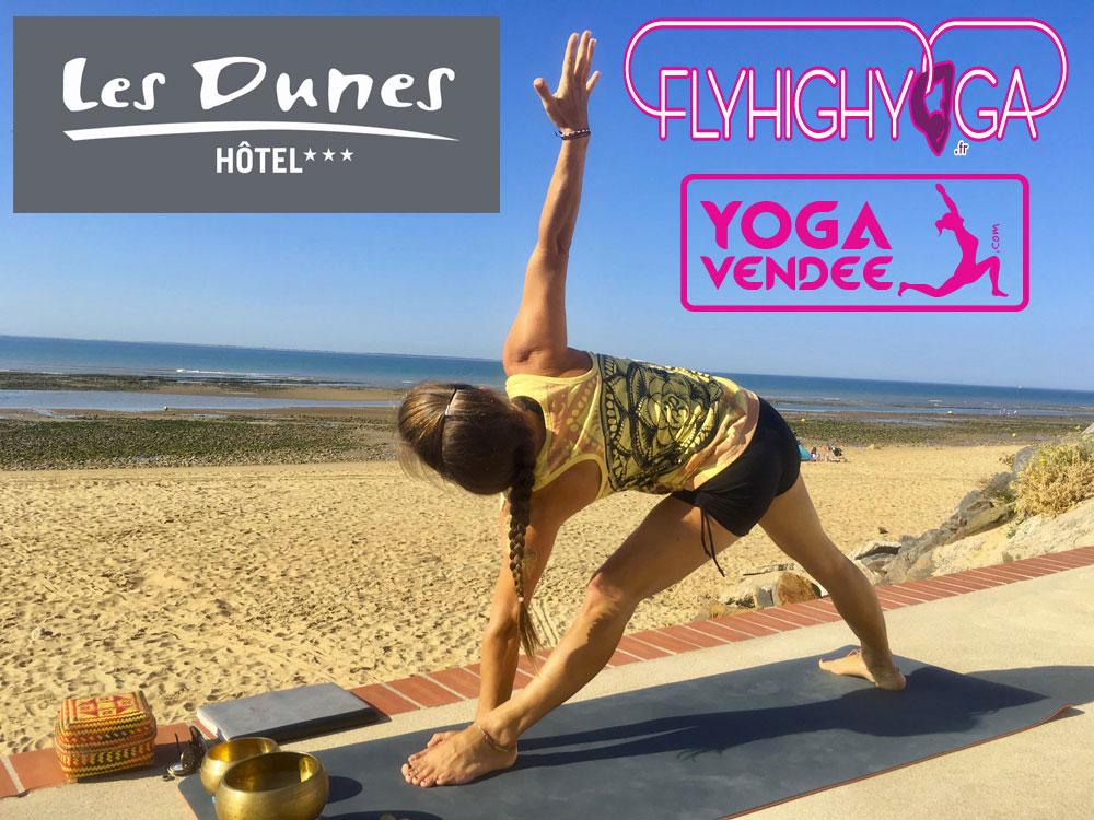 Cours de Yoga Vendée Hôtel Les Dunes Spa La Tranche sur mer