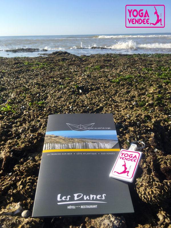 hotel les dunes spa la tranche sur mer cours de yoga vendee