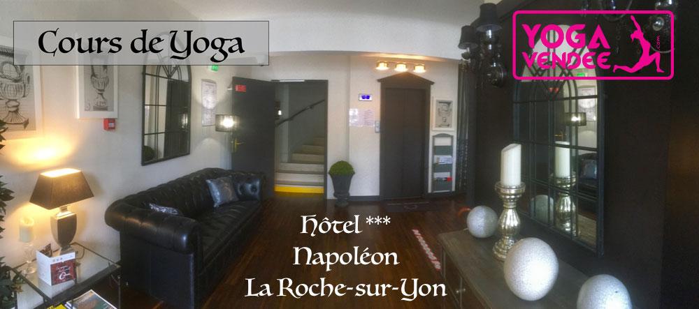cours de yoga commerciaux hôtel étape hotel napoleon la roche sur yon