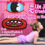 cours de yoga vendée enfant la roche sur yon centre de vacances