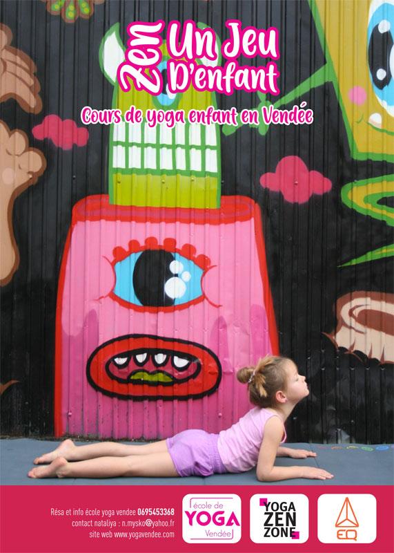cours de yoga vendée enfant luçon la tranche sur mer la roche sur yon longeville sur mer