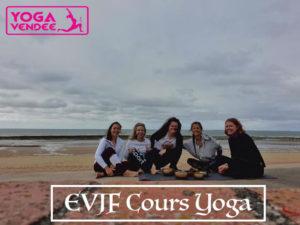 evjf cours de yoga en vendée