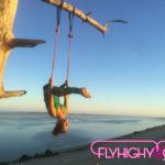 evjf fly yoga enterrement vie de jeune fille yoga aérien france vendée