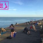 yoga sunset 108 salutation soleil en vendée france